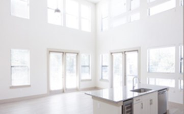 Living/Kitchen at Listing #293422