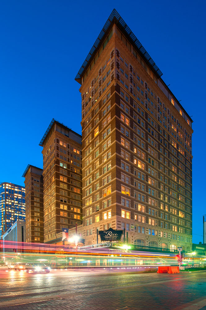 Rice Apartments Houston TX