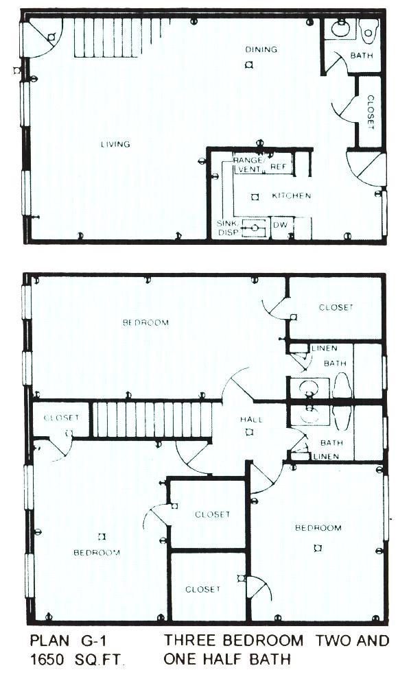 1,650 sq. ft. floor plan