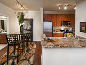 Dining/Kitchen at Listing #150628