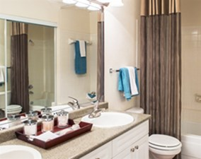 Bathroom at Listing #135844