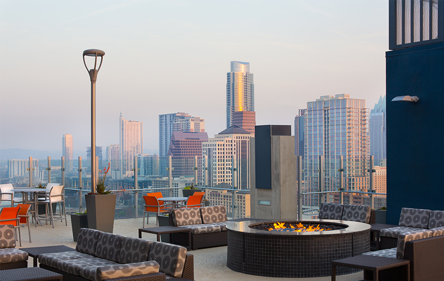 Rooftop Deck at Listing #226167