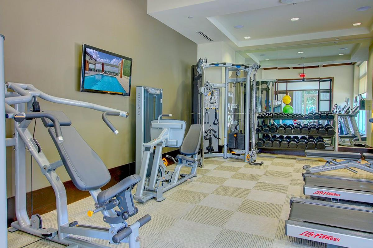 fitness center at Listing #150534