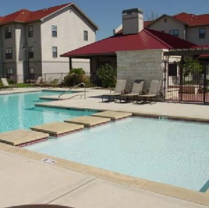 Pool Area at Listing #144582