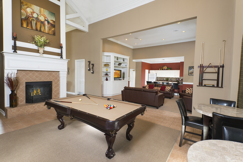 Gameroom at Listing #137786