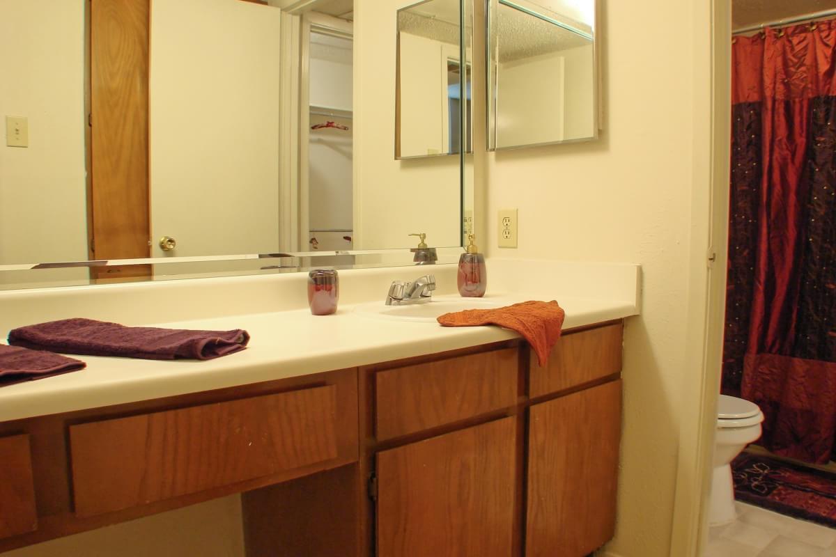 Bathroom at Listing #135920