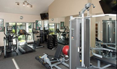 Fitness Center at Listing #141383