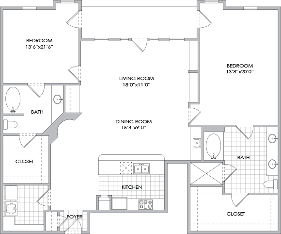 1,752 sq. ft. B13 floor plan