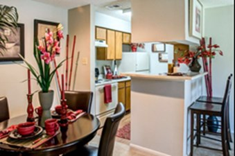 Dining/Kitchen at Listing #140890
