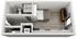 347 sq. ft. B floor plan