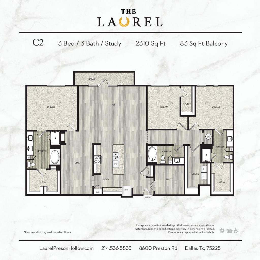 2,310 sq. ft. C2 floor plan