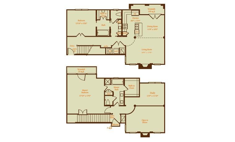 2,059 sq. ft. Laguna floor plan