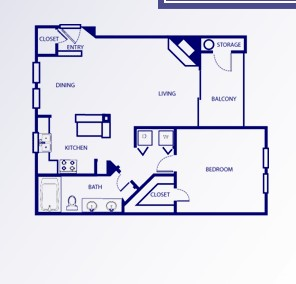 749 sq. ft. B/BOULTON floor plan
