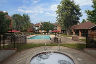 Pool Area at Listing #140268