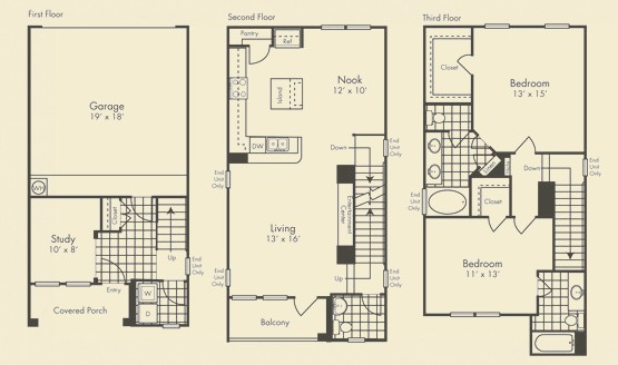 1,634 sq. ft. Grandvilla floor plan