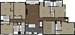 2,610 sq. ft. 6B3 floor plan