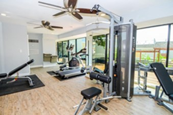 fitness center at Listing #140540