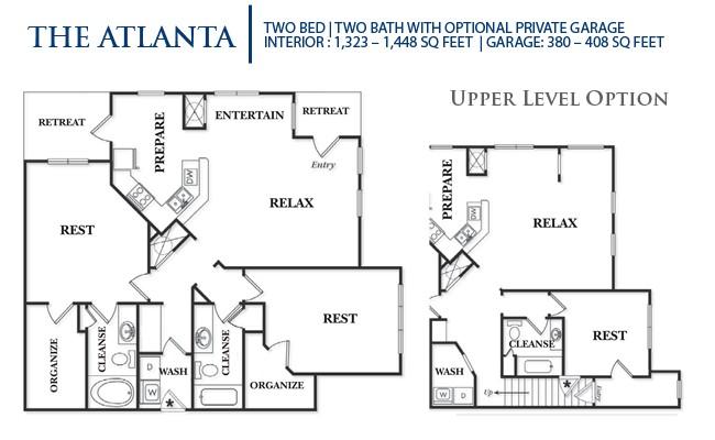 1,323 sq. ft. B2LG-Atlanta floor plan