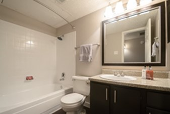 Bathroom at Listing #135798