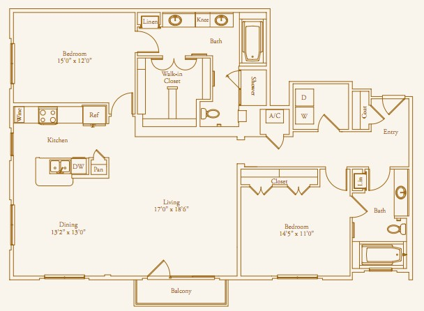1,707 sq. ft. Inwood floor plan