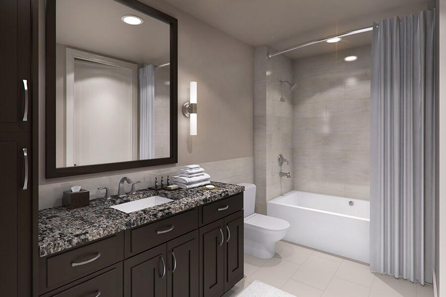 Bathroom at Listing #247343