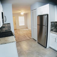 Living/Kitchen at Listing #302257