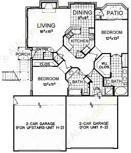 1,267 sq. ft. B5 floor plan