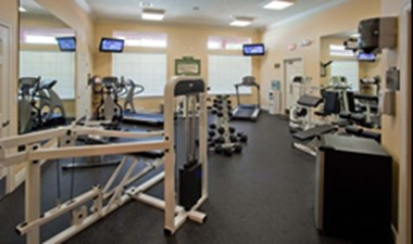 Fitness Center at Listing #144427