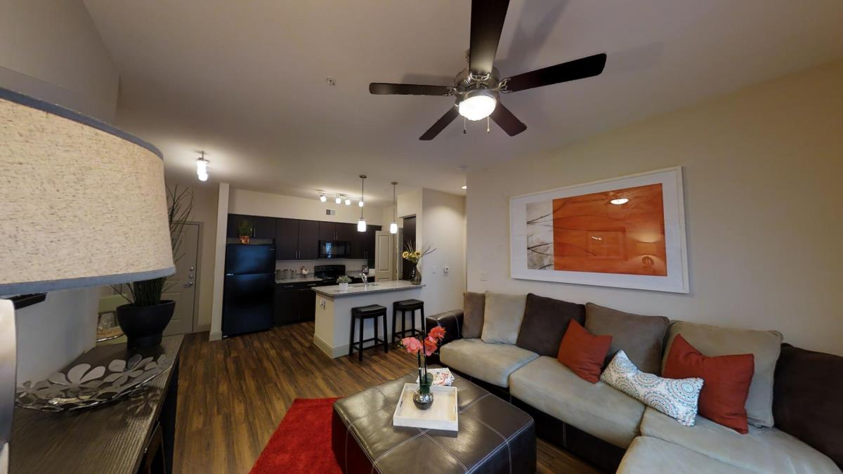 Living/Kitchen at Listing #292765