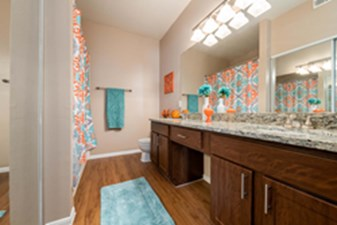 Bathroom at Listing #137655