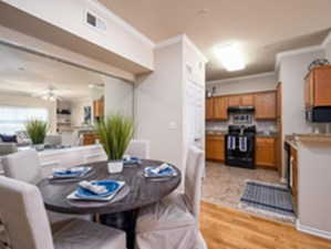 Dining/Kitchen at Listing #144699