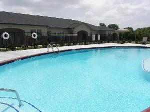 Pool Area at Listing #144680