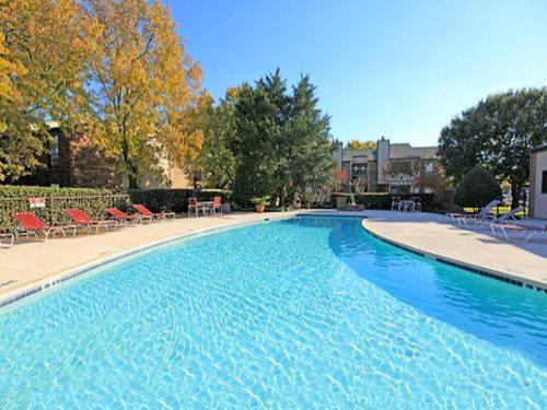 Pool at Listing #136094