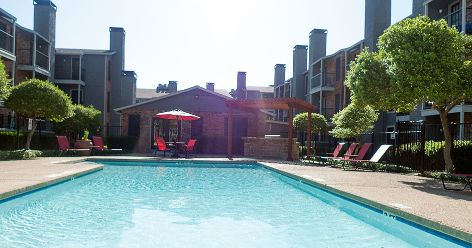 Pool at Listing #135642