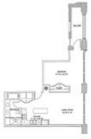 910 sq. ft. Classic floor plan