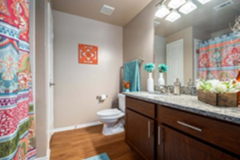 Bathroom at Listing #137583
