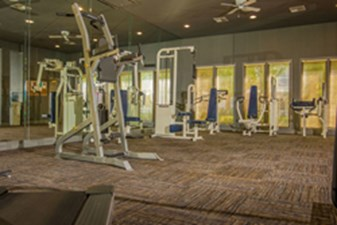 Fitness Center at Listing #137788