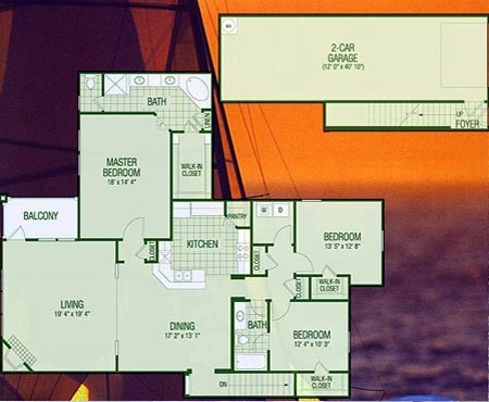 2,293 sq. ft. C4 Pagonia floor plan