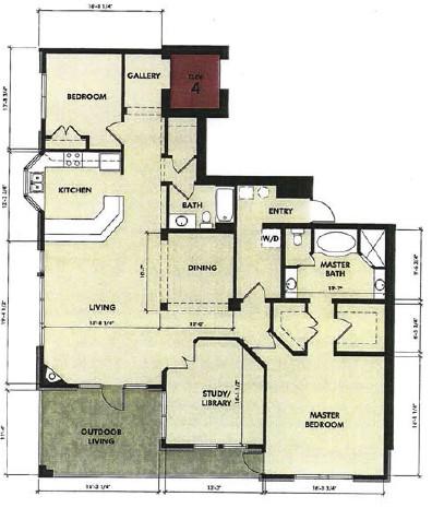 1,865 sq. ft. Rio Grande floor plan