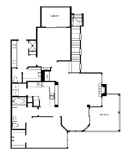 1,393 sq. ft. B4 floor plan