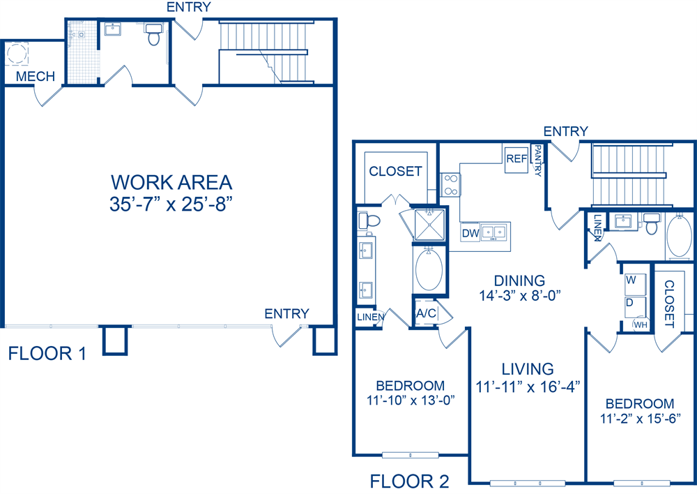 2,291 sq. ft. Zemenia floor plan