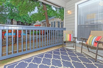 Patio at Listing #141073