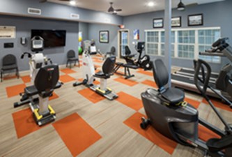 Fitness Center at Listing #150584