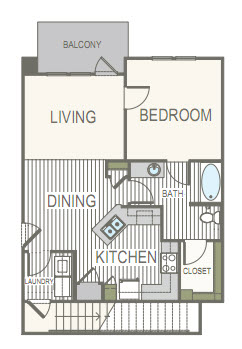 1,489 sq. ft. C1.C2 floor plan