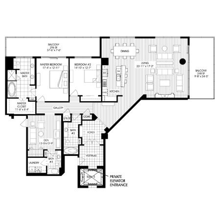 2,620 sq. ft. B10 floor plan