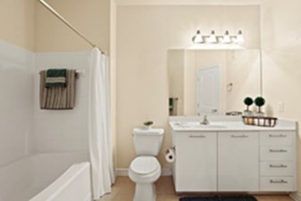 Bathroom at Listing #145152