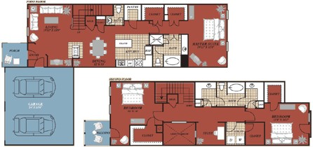 2,264 sq. ft. Granada floor plan