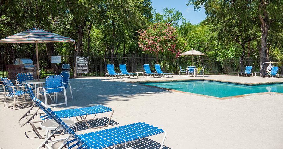 Pool at Listing #136992