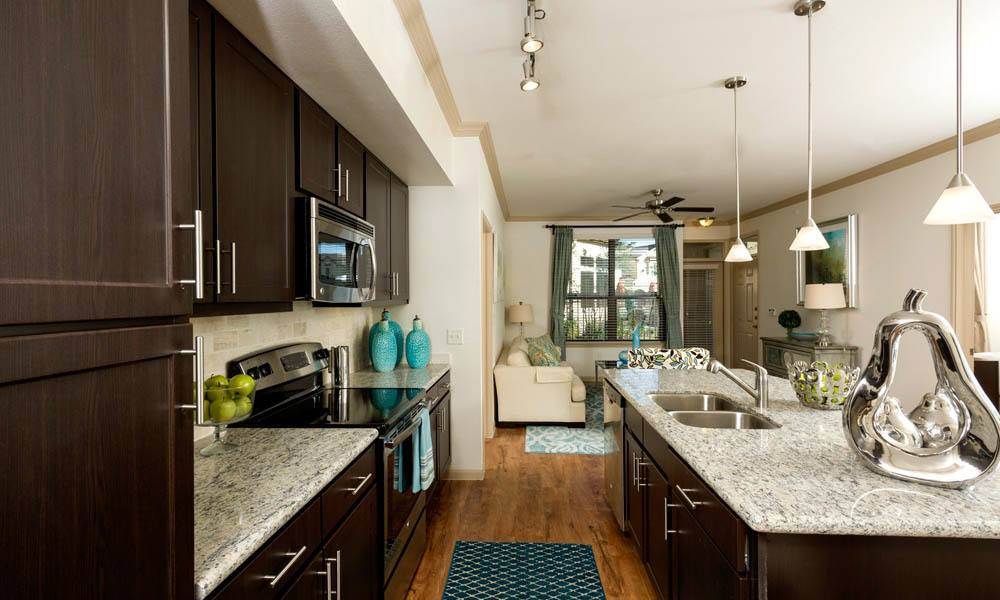 Living/Kitchen at Listing #248100