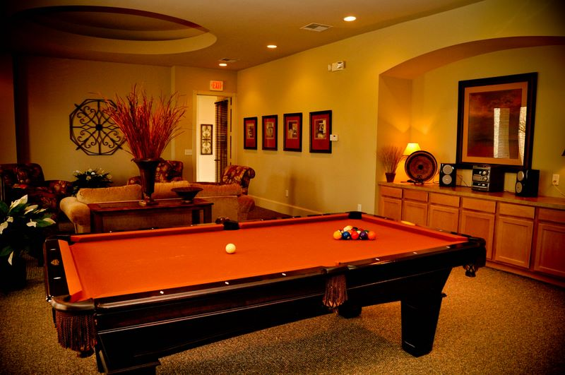 Gameroom at Listing #144341